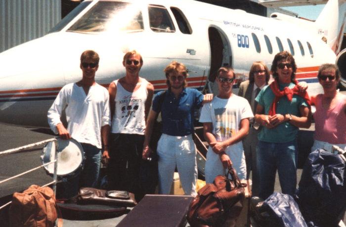Bad Habits Band flying to Perth Gig for Prince Albert of Monoco