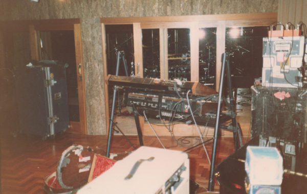 InXs Band set up to record The Swing Album Paradise