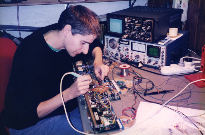 Paradise Technitian Steven Wilson 2 (Responsible for much Studio built electronics)