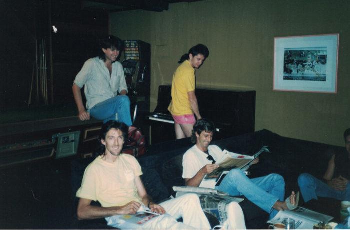 Richard Clapton Recording Album Paradise