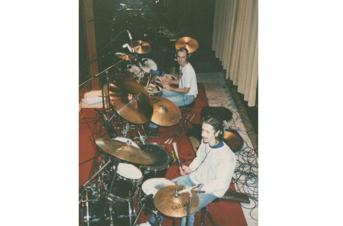 RnR Memories Album Session – Mark Kenedy & Hamish Stuart Drums
