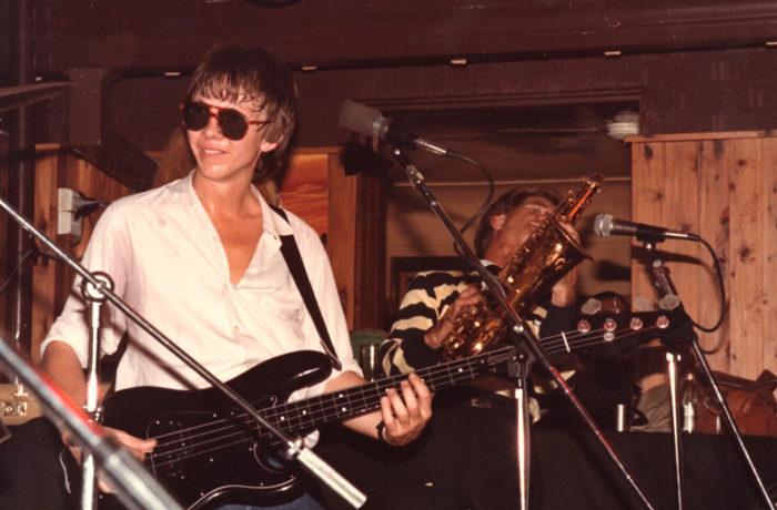 The Rockets, David Glyde Sax 82 at Golden Sheaf Hotel