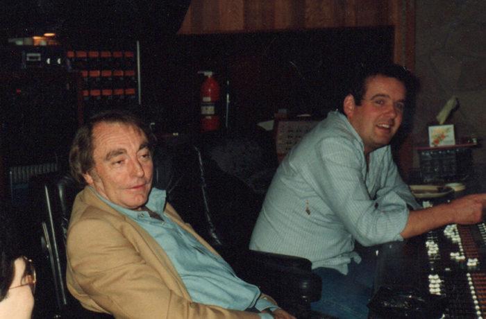 Warners Man Dir Paul Turner & Engineer Richard Lush Paradise 83