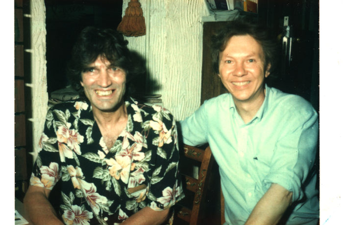 With Peter Head 2002